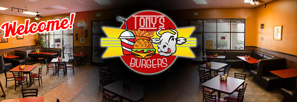 Welcome to Tony's Burgers