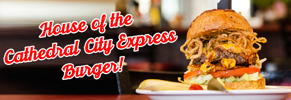 The Cathedral City Express Burger